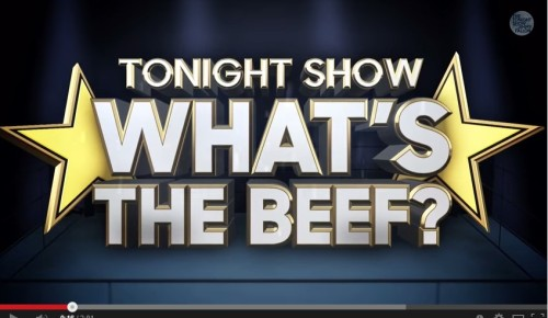 "Jimmy Fallon's ""What the Beef?"" Segment - Click to Play!"