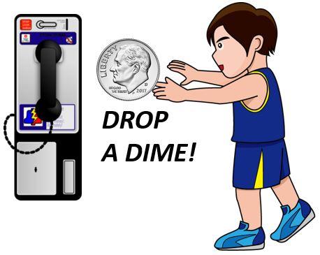 Drop a dime